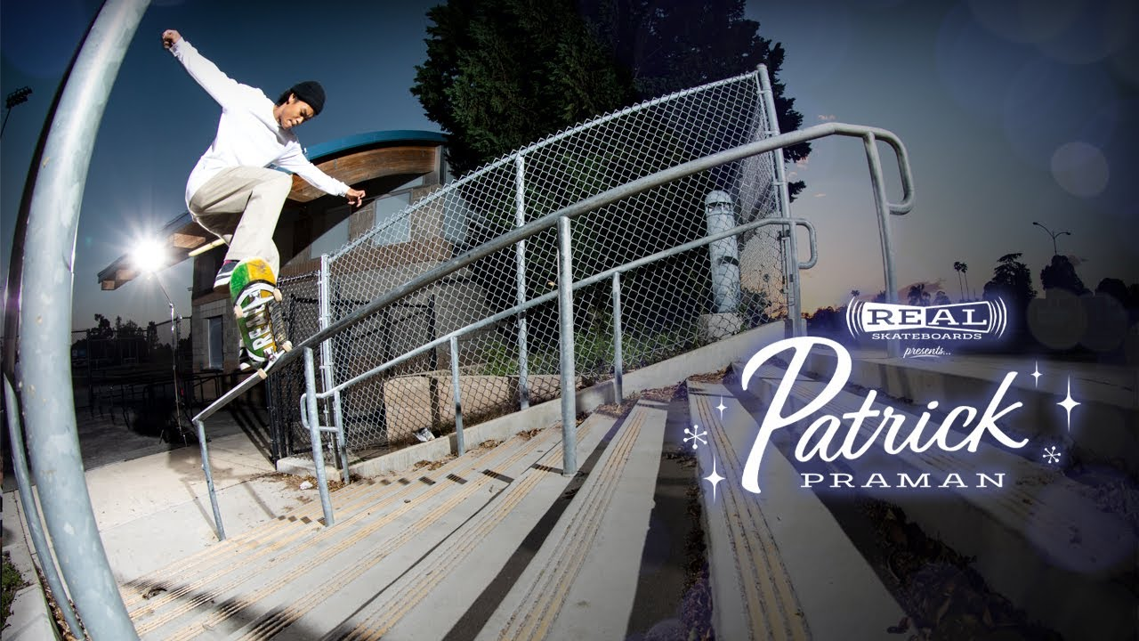 REAL Skateboards presents Patrick Praman