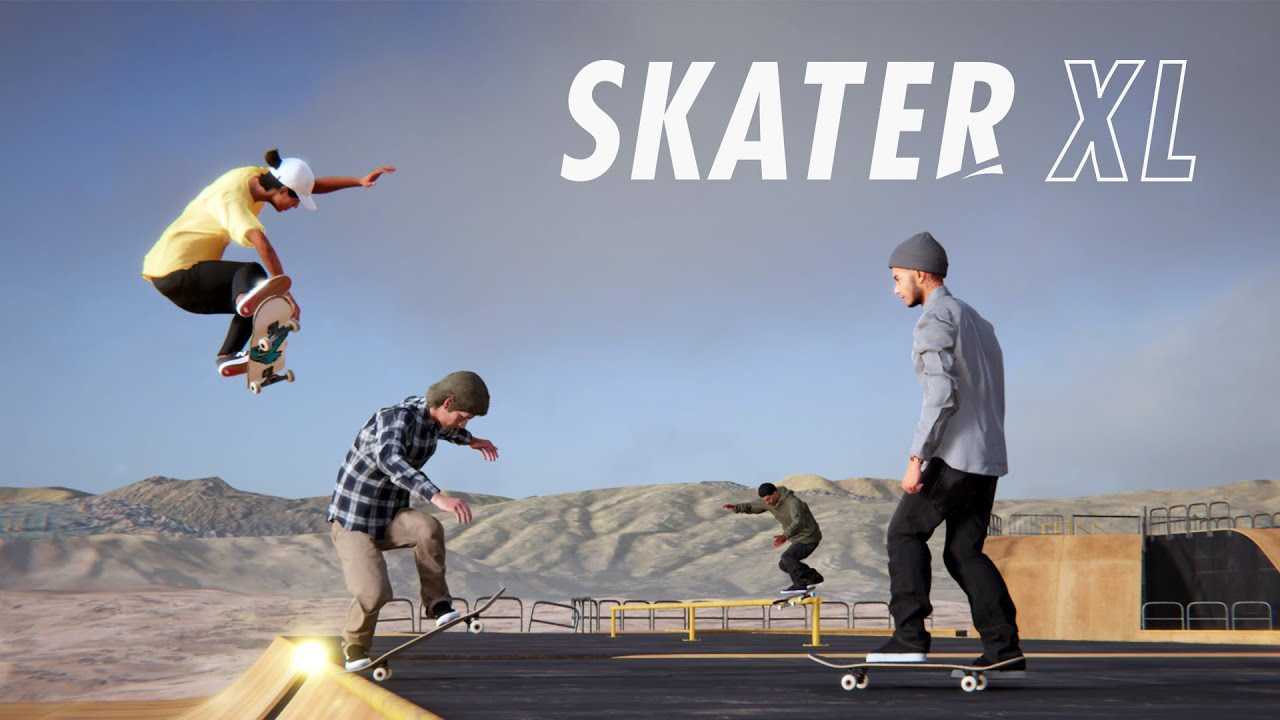 Skater XL - Free Skate Multiplayer Now In Open Beta On Steam
