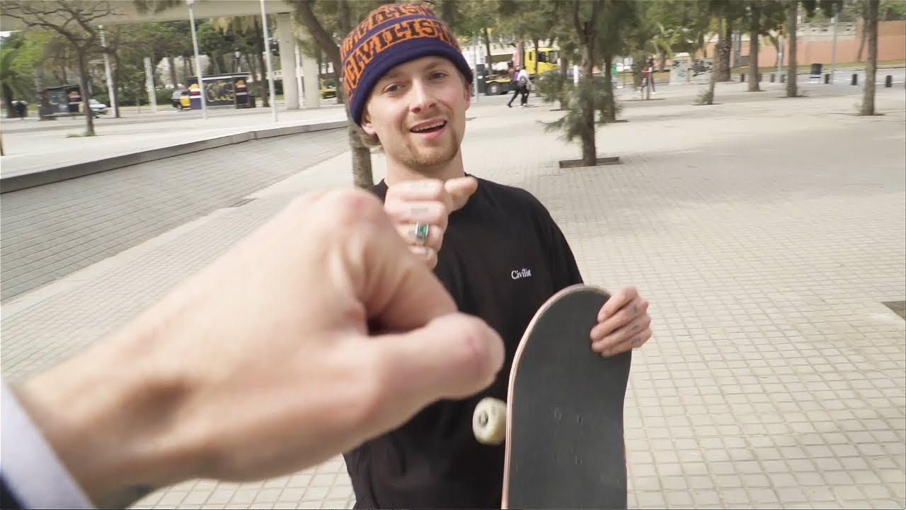 LINK UP WITH JUSTIN SOMMER & BLAKEULAR IN BARCELONA! Screaming Vlog 31 | Santa Cruz Skateboards