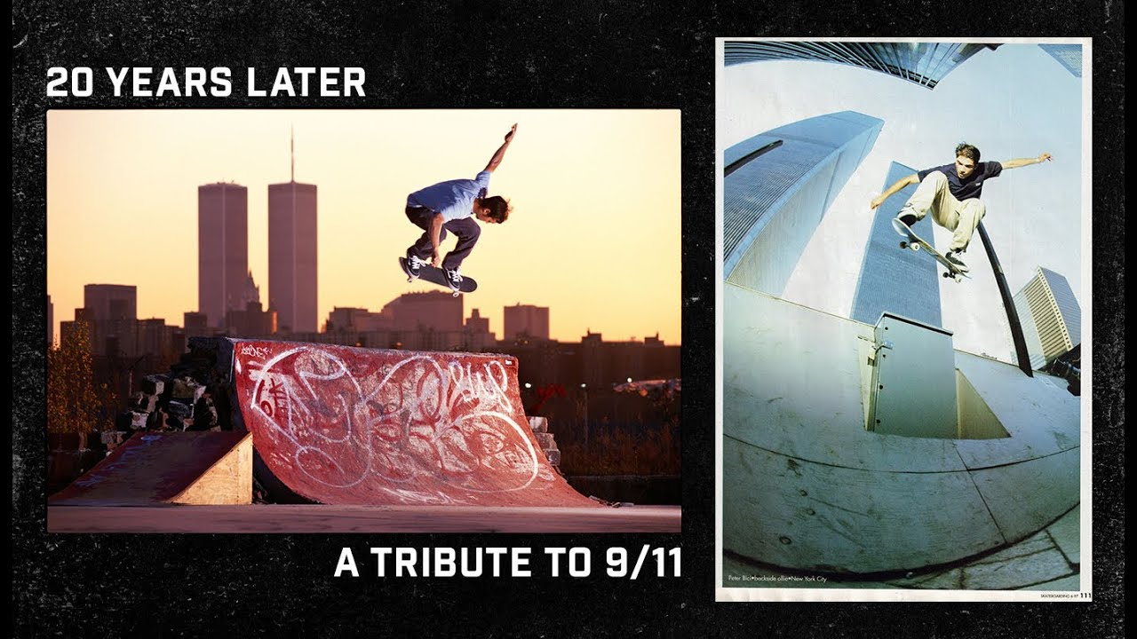 9/11 Moment Of Silence | A Skateboarding Photo Tribute
