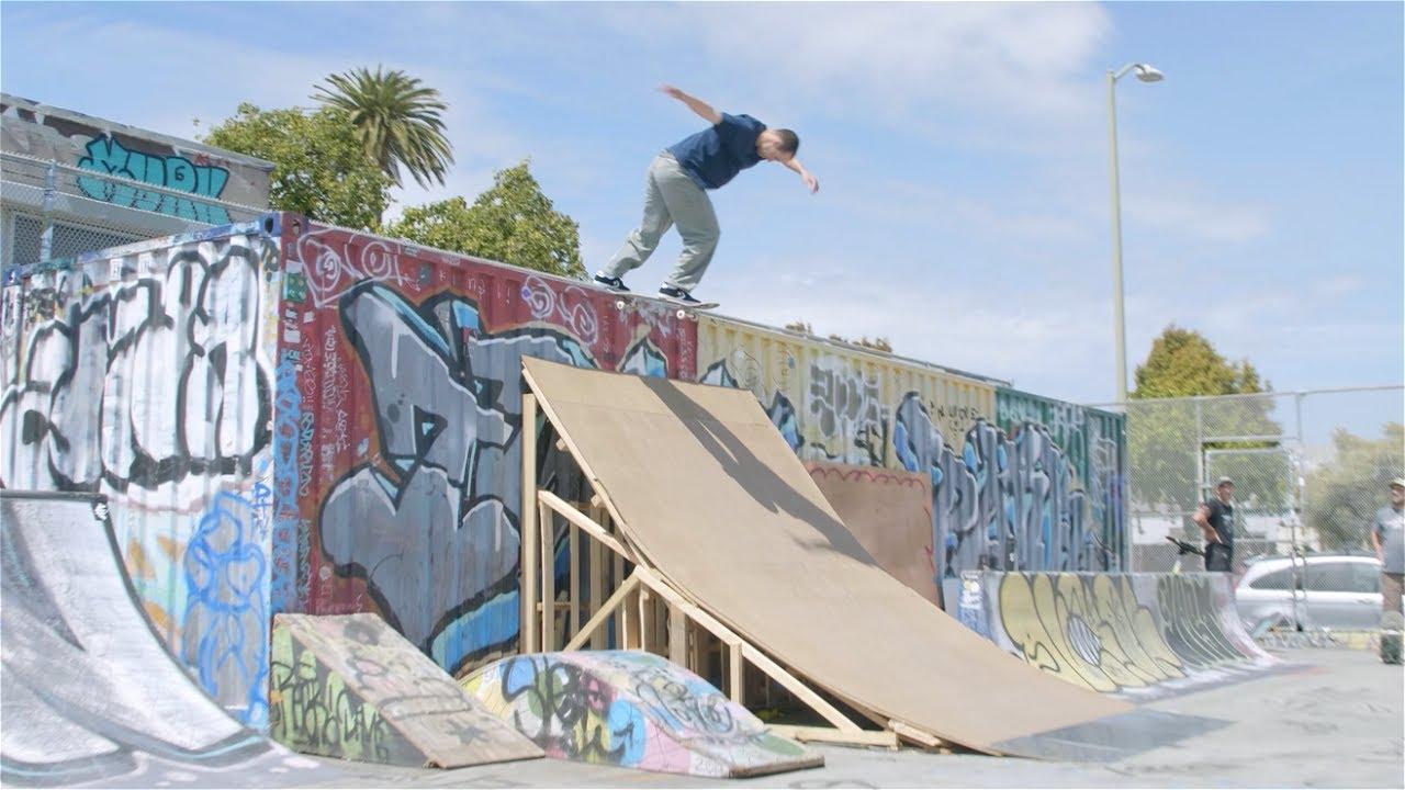 Kevin Braun, Knibbs, Trav + James Skate Town Park! Screaming Vlog 52 | Santa Cruz Skateboards