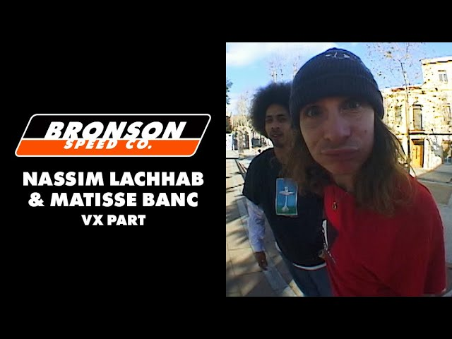 Nassim Lachhab x Matisse Banc 'VX Part' | Bronson Speed Co
