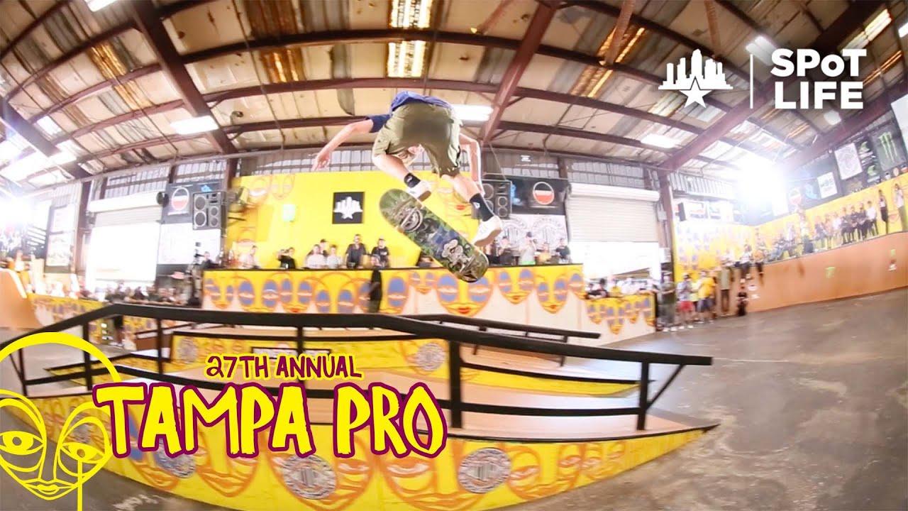 Tampa Pro 2021: Independent Best Trick - Jamie Foy, Jack Olson, Felipe Gustavo - SPoT Life