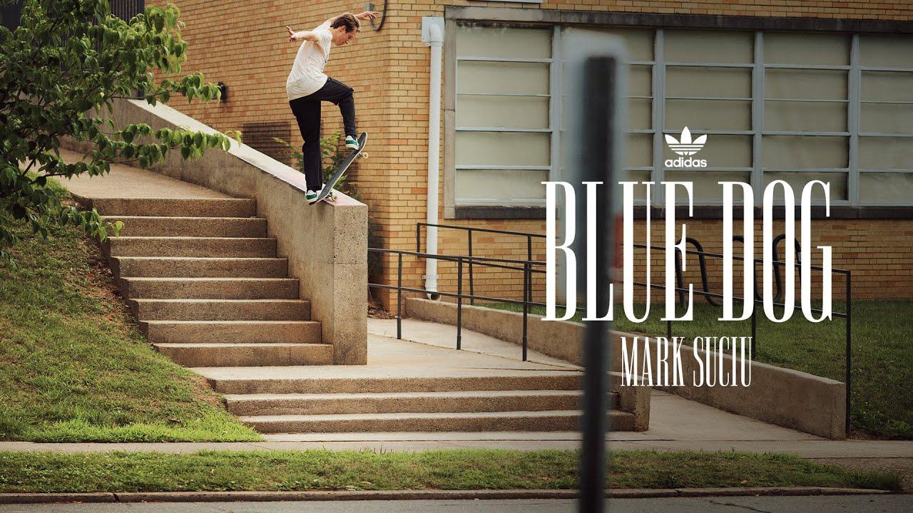 "Mark Suciu's ""Blue Dog"" Adidas Part"